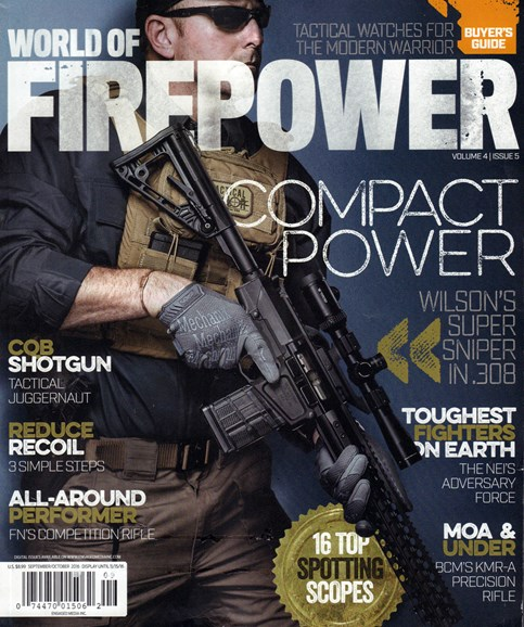World of Firepower Cover - 9/1/2016