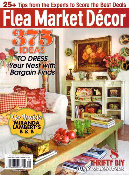 Flea Market Décor Cover - 9/1/2016