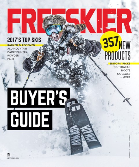Freeskier Cover - 9/1/2016