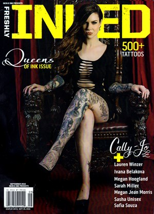 Freshly INKED Magazine | 9/1/2016 Cover
