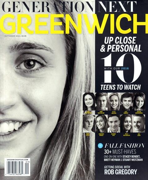 Greenwich Cover - 9/1/2016