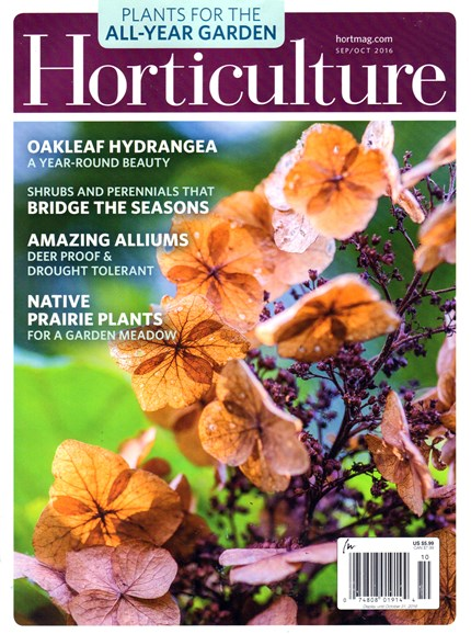 Horticulture Cover - 9/1/2016