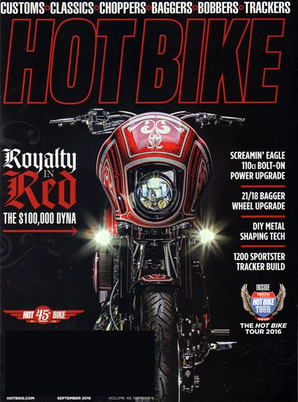 Hot Bike Cover - 9/1/2016