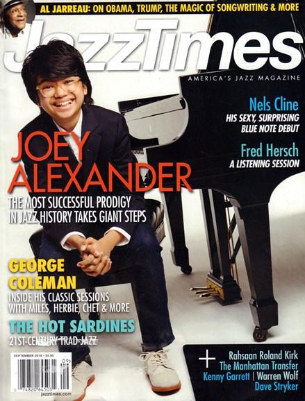 JazzTimes Cover - 9/1/2016