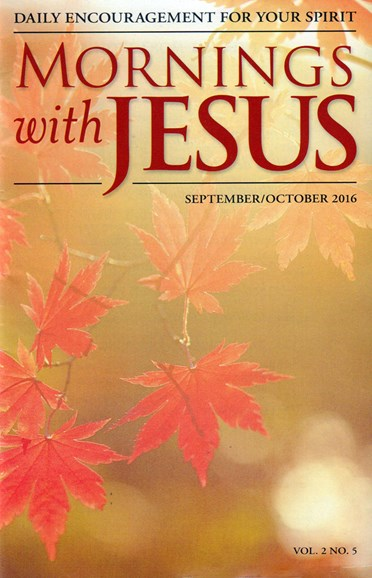 Mornings with Jesus Cover - 9/1/2016