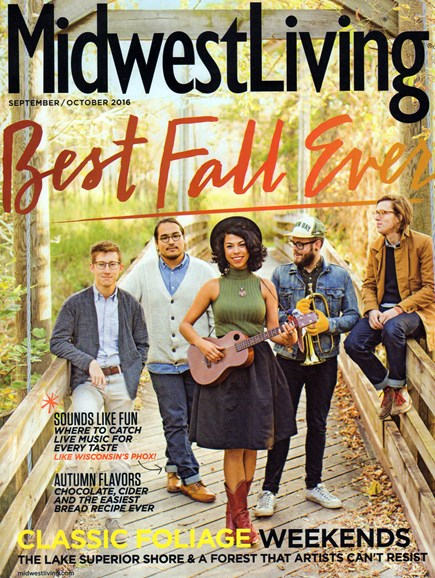 Midwest Living Cover - 9/1/2016