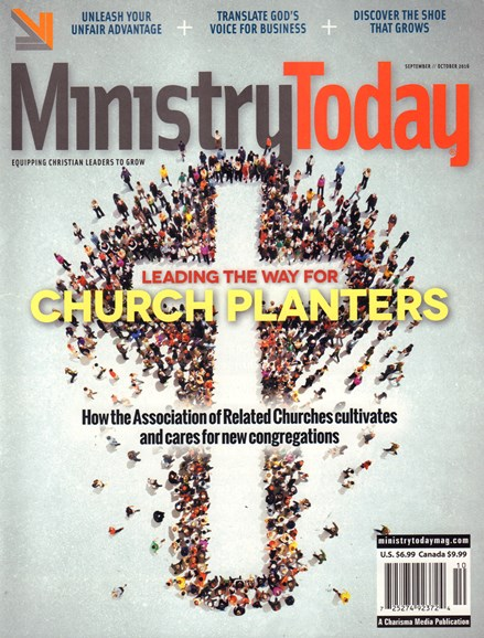 Ministry Today Cover - 9/1/2016