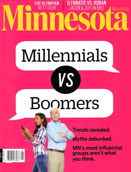 Minnesota Monthly Cover - 8/1/2016