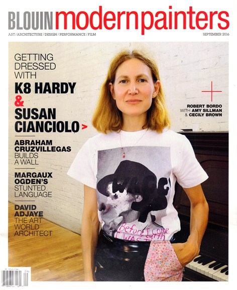 Blouin Modern Painters Cover - 9/1/2016
