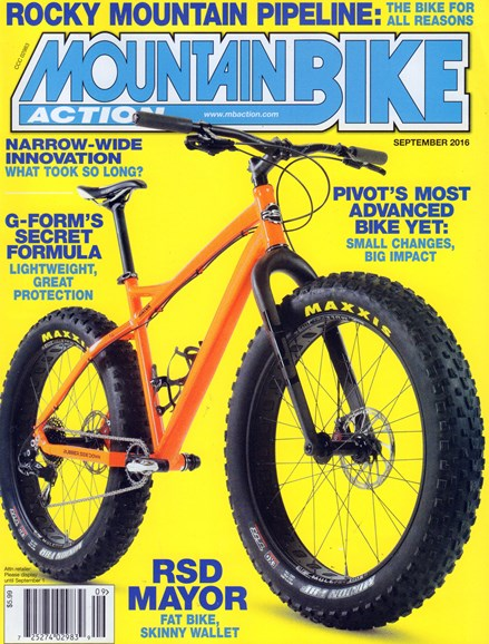 Mountain Bike Action Cover - 9/1/2016