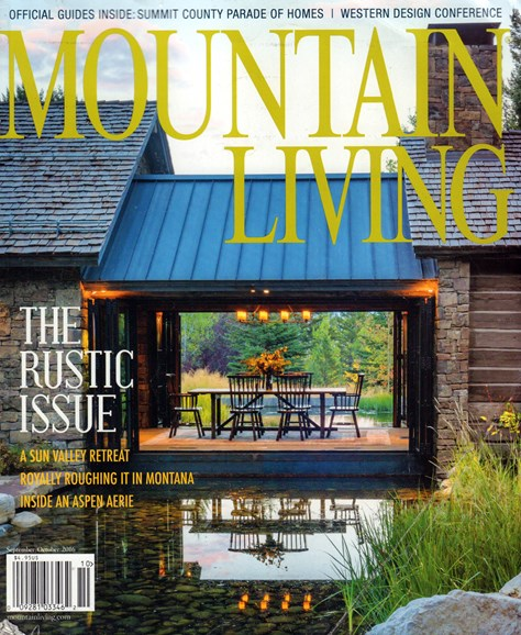 Mountain Living Cover - 9/1/2016