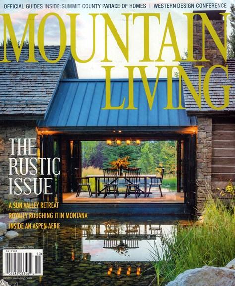 Mountain Living Cover - 9/1/2016