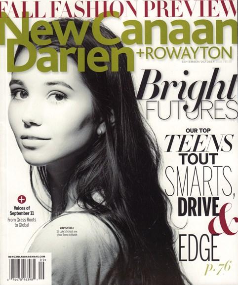 New Canaan-Darien Cover - 9/1/2016