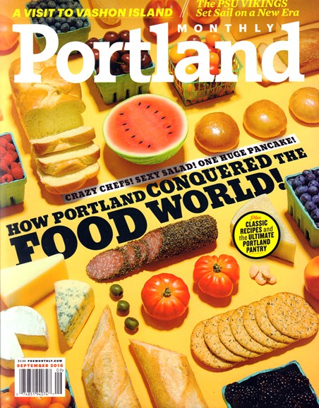 Portland Monthly Cover - 9/1/2016