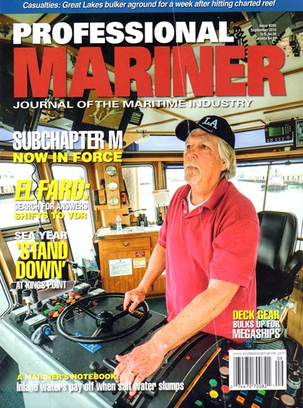Professional Mariner Cover - 9/1/2016