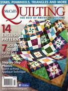 Mccall's Quilting Magazine 9/1/2016