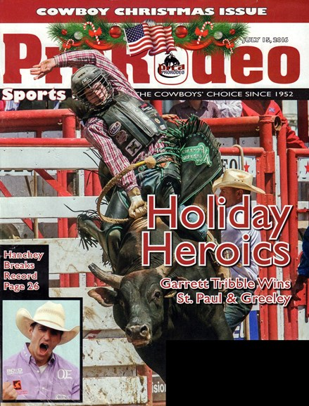Pro Rodeo Sports News Cover - 7/15/2016
