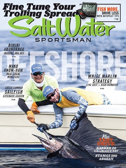 Salt Water Sportsman Cover - 8/1/2015