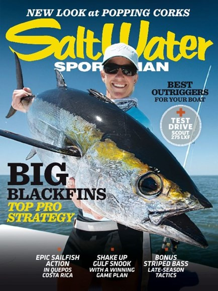 Salt Water Sportsman Cover - 11/1/2014