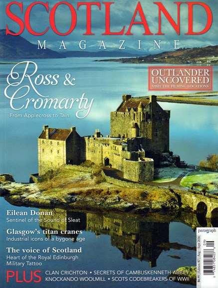 Scotland Magazine Cover - 8/1/2016