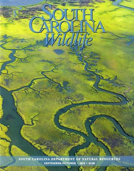 South Carolina Wildlife Cover - 9/1/2016