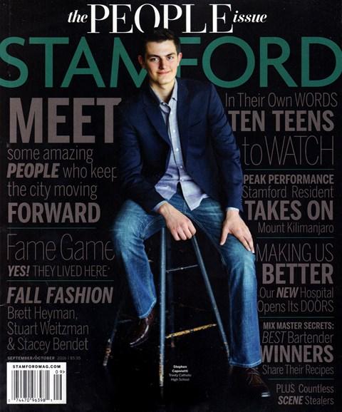 Stamford Magazine Cover - 9/1/2016