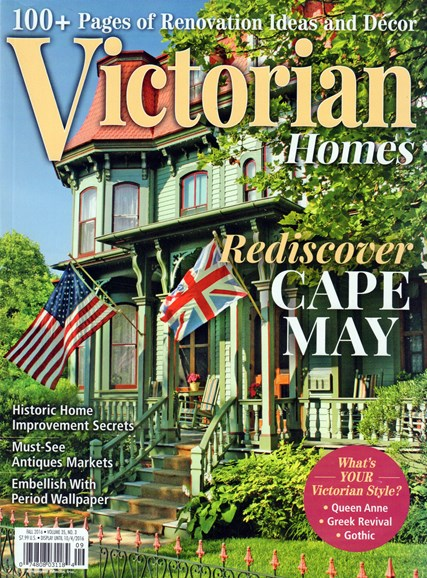 Victorian Homes Cover - 9/1/2016