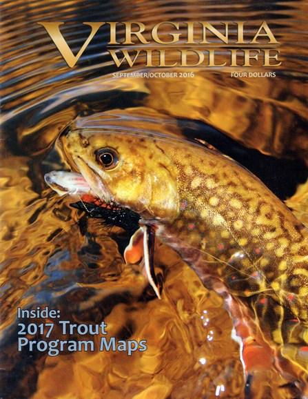 Virginia Wildlife Cover - 9/1/2016