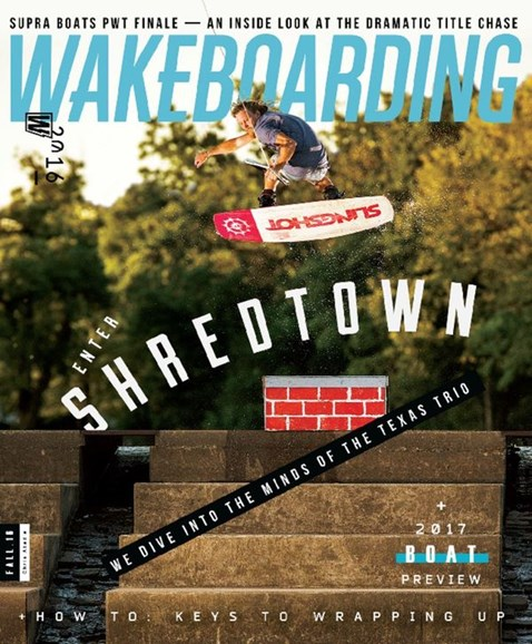 Wake Boarding Cover - 9/1/2016