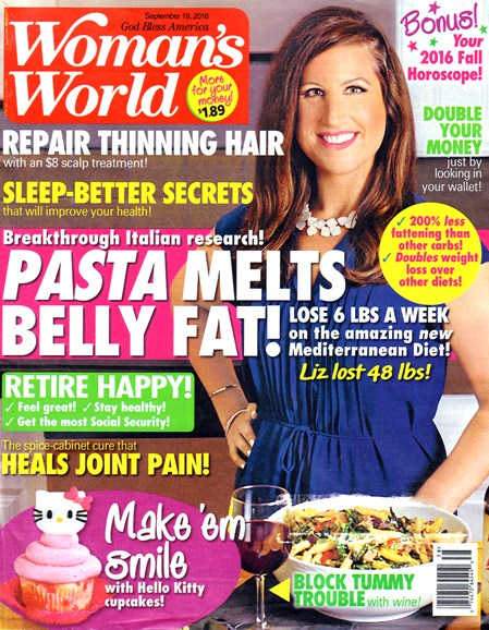 Woman's World Cover - 9/19/2016