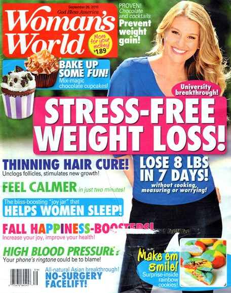 Woman's World Cover - 9/26/2016