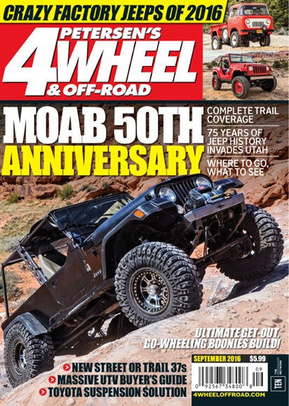 4 Wheel & Off-Road Cover - 9/1/2016