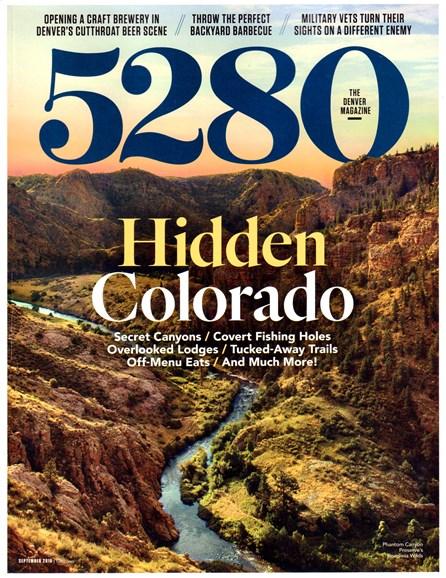 5280 Magazine Cover - 9/1/2016