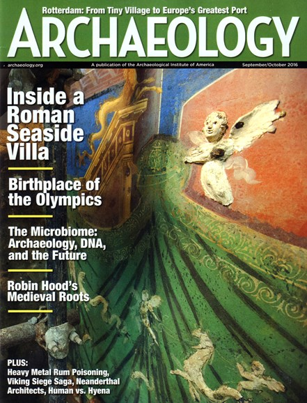 Archaeology Cover - 9/1/2016