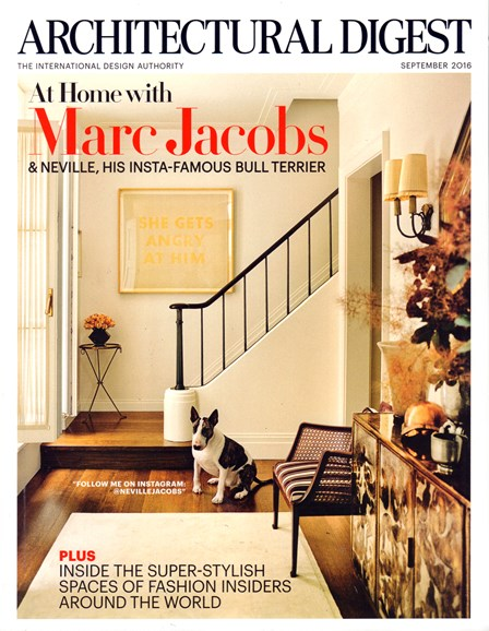 Architectural Digest Cover - 9/1/2016