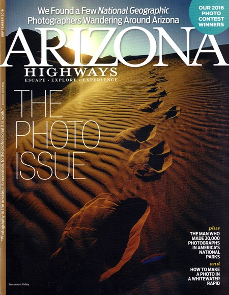 Arizona Highways Cover - 9/1/2016