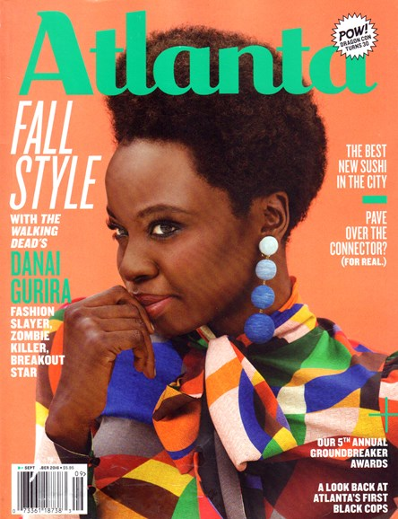 Atlanta Magazine Cover - 9/1/2016