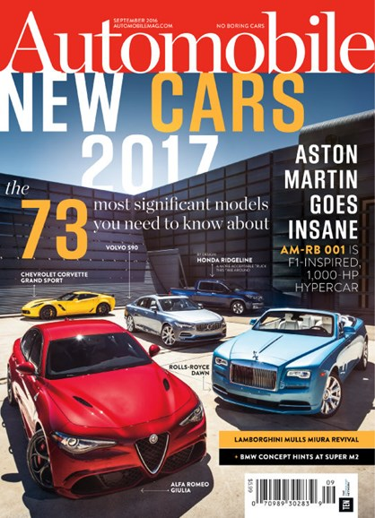 Automobile Cover - 9/1/2016