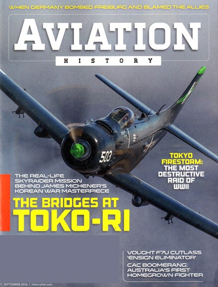 Aviation History Cover - 9/1/2016