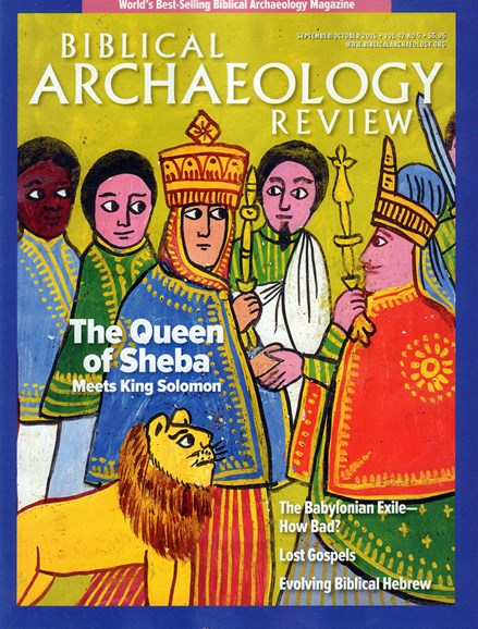 Biblical Archaeology Review Cover - 9/1/2016