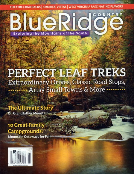 Blue Ridge Country Cover - 9/1/2016