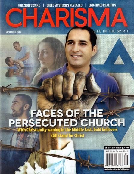 Charisma Cover - 9/1/2016