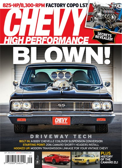 Chevy High Performance Cover - 9/1/2016