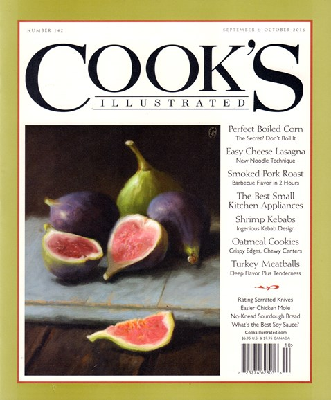 Cook's Illustrated Cover - 9/1/2016