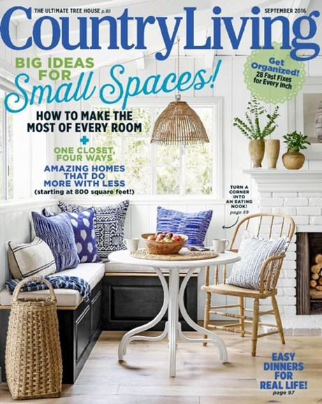 Country Living Cover - 9/1/2016
