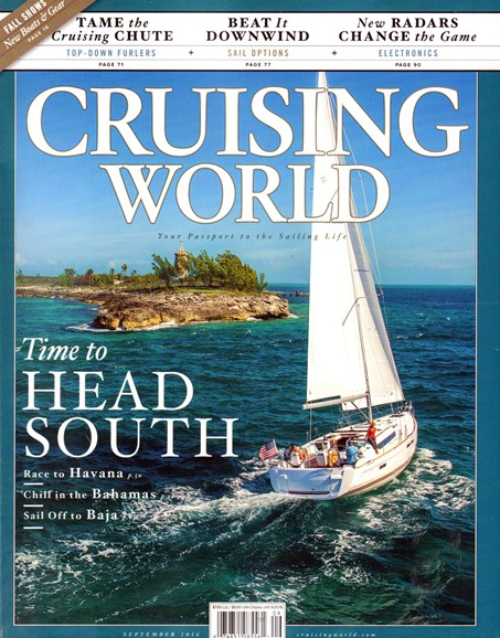 Cruising World Cover - 9/1/2016