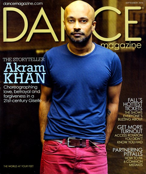 Dance Magazine Cover - 9/1/2016