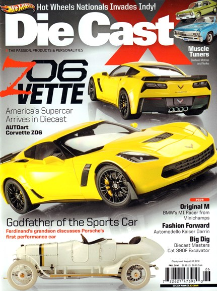 Diecast X Cover - 9/1/2016