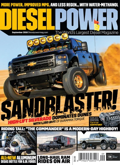 Diesel Power Cover - 9/1/2016