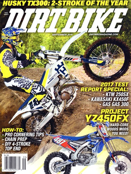 Dirt Bike Cover - 9/1/2016